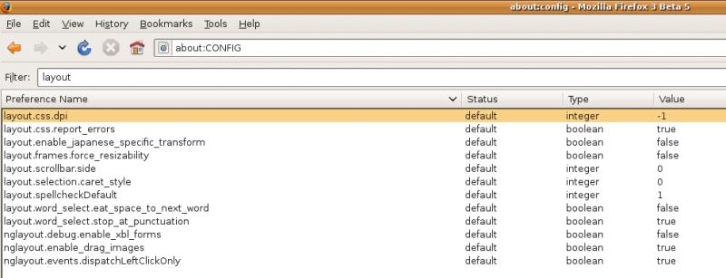 Ubuntu 8.04 Hardy & Firefox 3 Beta 5